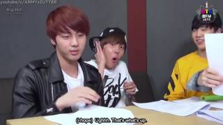 ENG SUB Savage JUNGKOOK breaks the rule and hits RAP MONSTER  BTS plays game