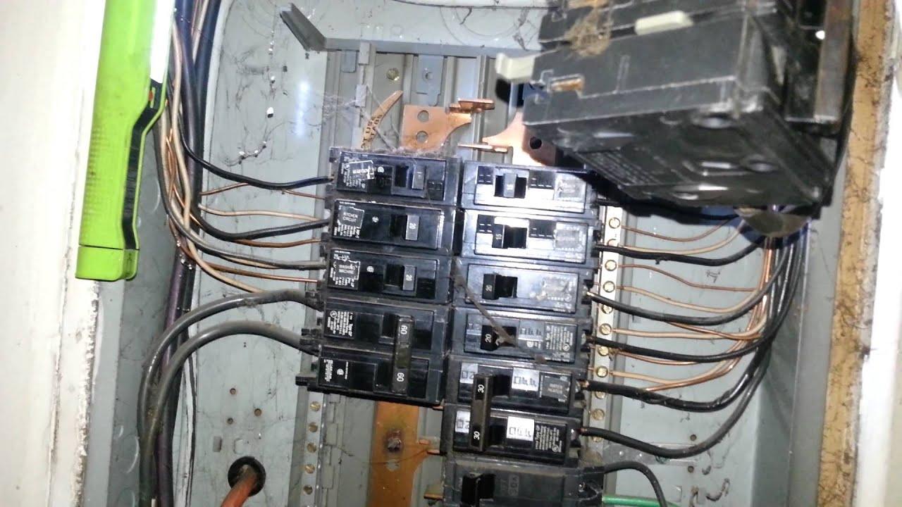 replacing over heating 100 amp circuit breaker [ 1920 x 1080 Pixel ]