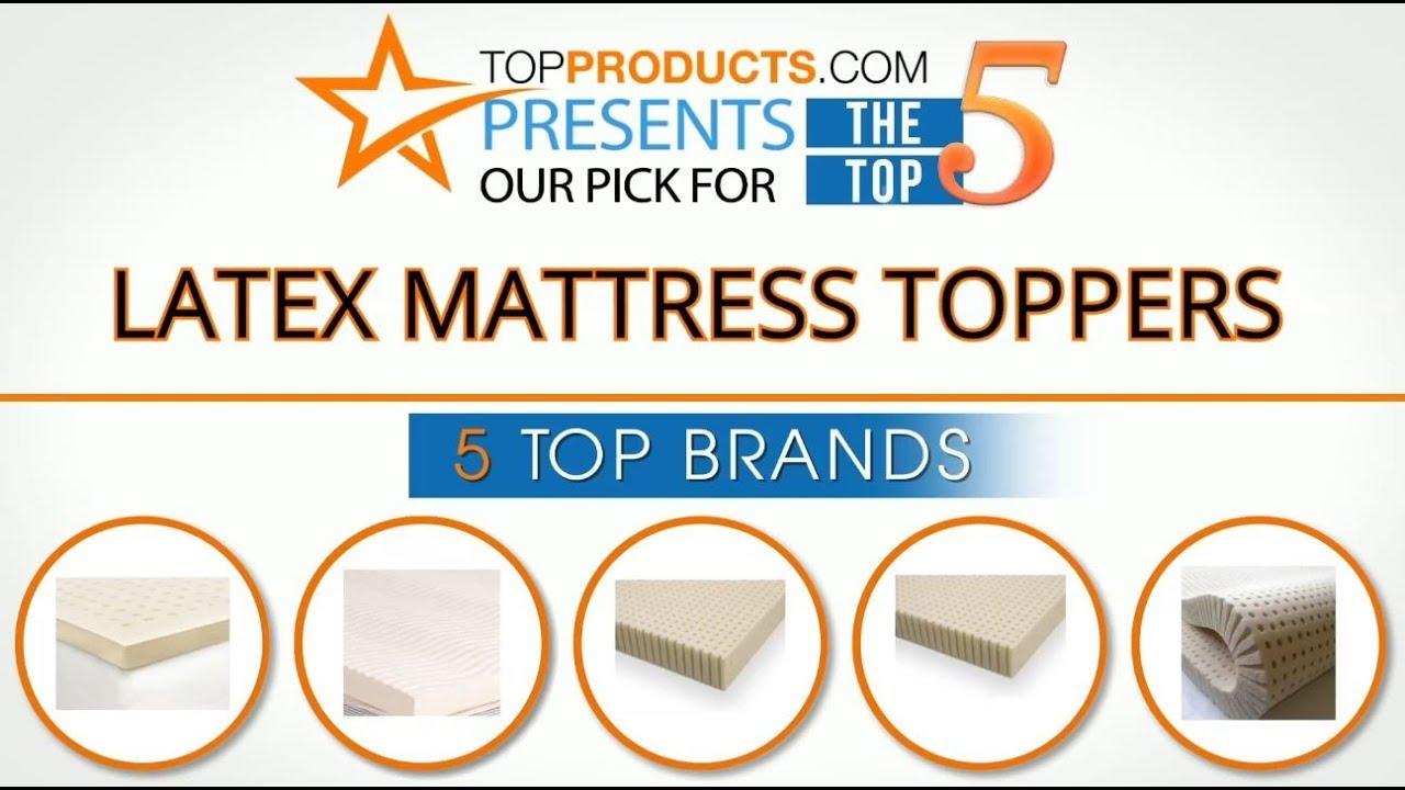 best latex mattress topper reviews u2013 how to choose the best latex mattress topper - Latex Mattress Reviews