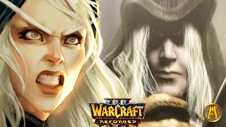Sylvanas Poisons Arthas - Lich King's Command - All Cutscenes [Warcraft 3: Frozen Throne]