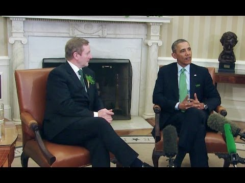 President Obama's Bilateral Meeting with Prime Minister Kenny of Ireland