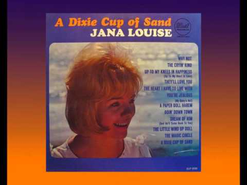 JANA LOUISE - Dream of Him (1964) Classic Sixties Girl Group Sound