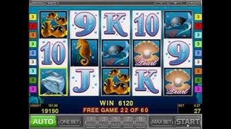 Casino Games - Dolphin's Pearl Video Slot by Novomatic from RiverSweeps Gambling