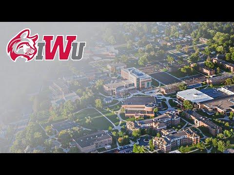 Indiana Wesleyan University | Aerial Campus Overview