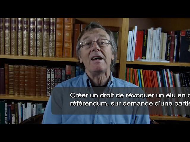 Le Référendum d'Initiative Citoyenne, ...vu par les candidats du système