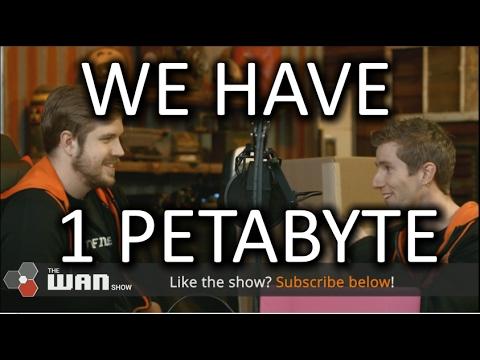 WE'RE GETTING A 1 PETABYTE DRIVE!! - WAN Show Feb 3, 2017
