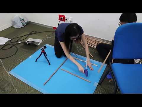 Process of creating an interactive installation - Carina Lim
