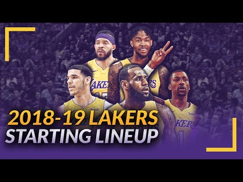 Lakers Podcast: LeBron James Visits Summer League, 2018-19 Starting Lineup & Rotations