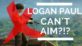 Fortnite Clip Compilation | Logan Paul Potato Aim Must See!?!