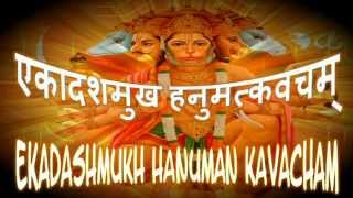 Ekadashmukh Hanuman Kavacham