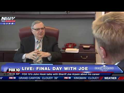 FULL: FINAL Interview With Sheriff Joe Arpaio - Talks Donald Trump And MORE  (FNN)
