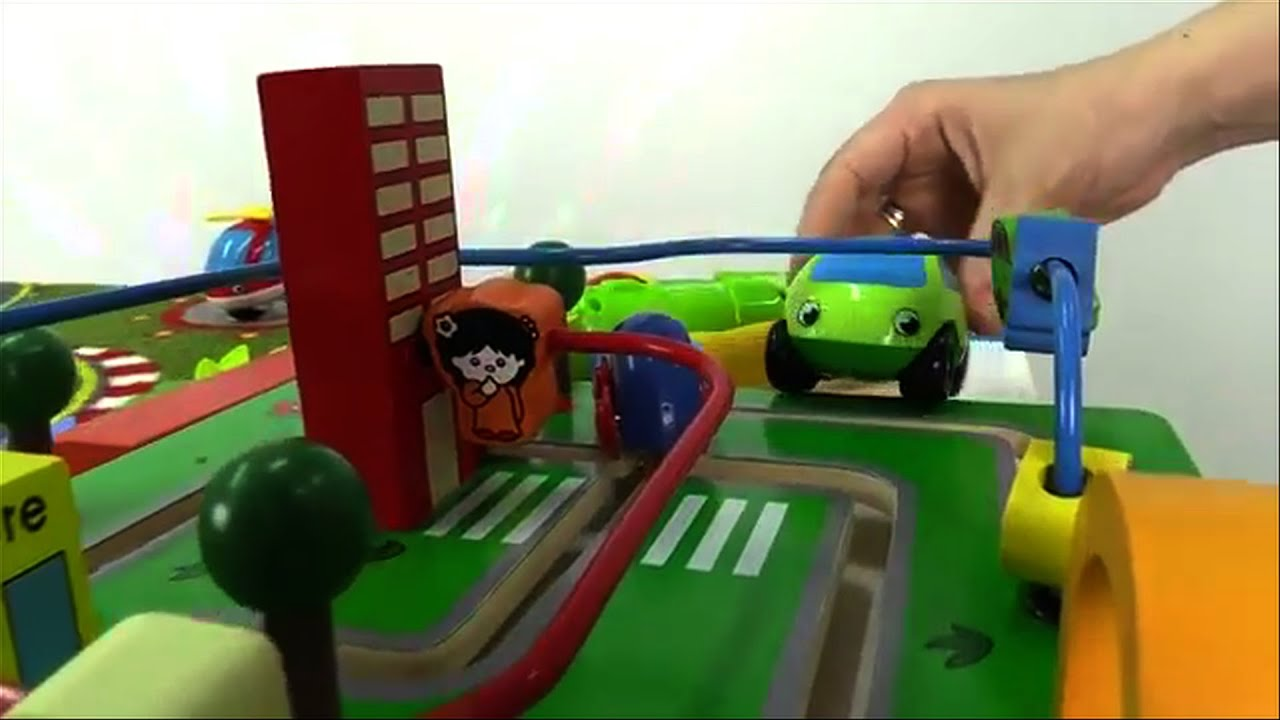 Carros para nios  Greeny y banco  Carros de Juguete  YouTube