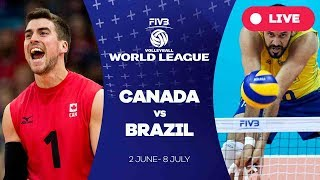 Canada v Brazil - Group 1: 2017 FIVB Volleyball World League