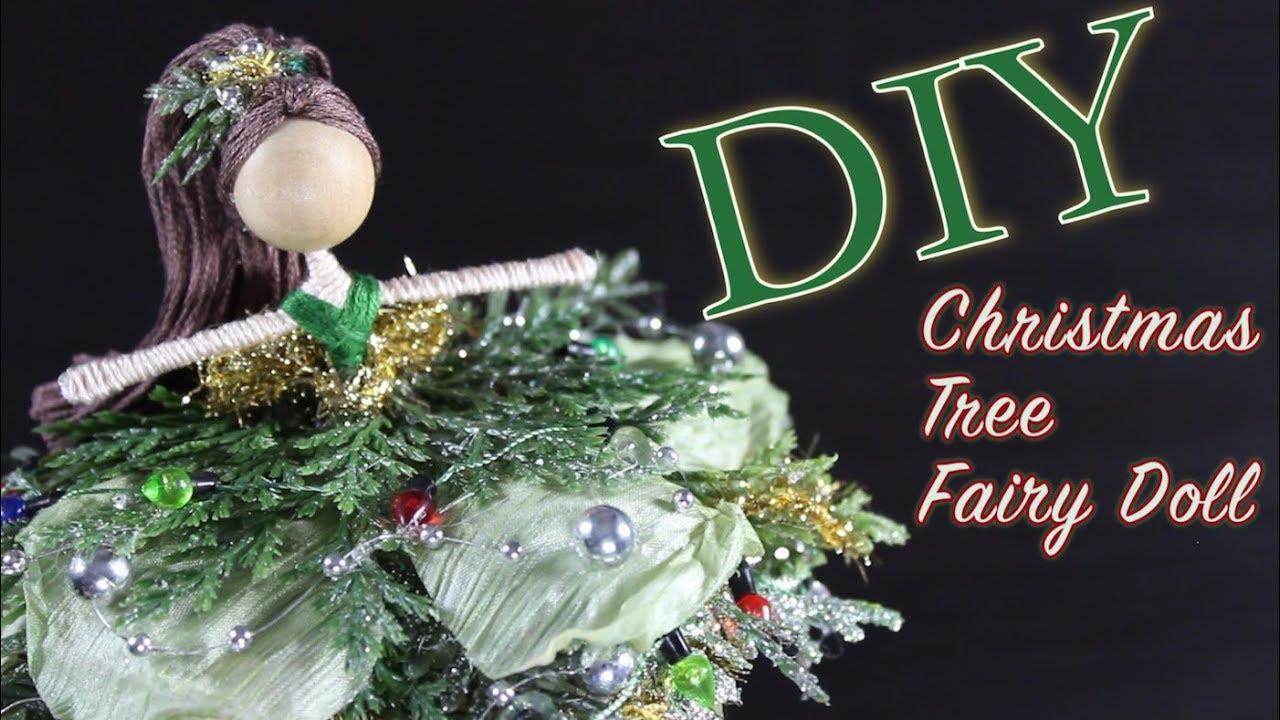 DIY Christmas Tree Fairy Doll