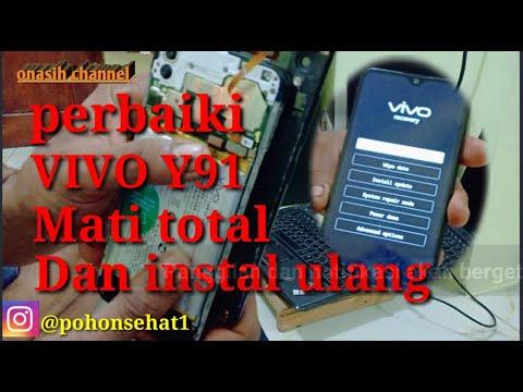 cara-mengatasi-hp-mati-total-baterai-tanam,instal-ulang-vivo-y91