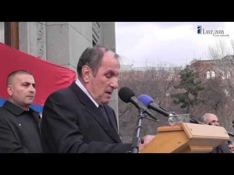 Լեւոն Տեր-Պետրոսյանի ելույթը 2015 թ. մարտի 1-ի հանրահավաքում
