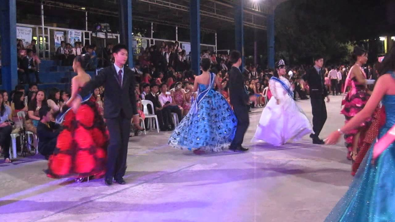 jha in red floral gown (JS Prom 2013) - YouTube
