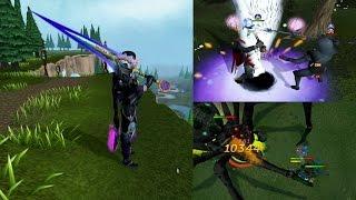 Testing out the Zaros Godsword   Zaros Godsword Pking!   Level 92 Weapon from Telos