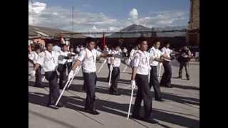 Juramentacion del estado mayor,policias escolares,brigadieres y presentacion escolar.