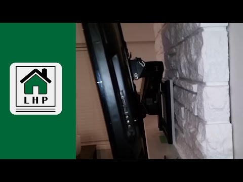 Installing A Tv Wall Mount On Stone Fireplace Lhp