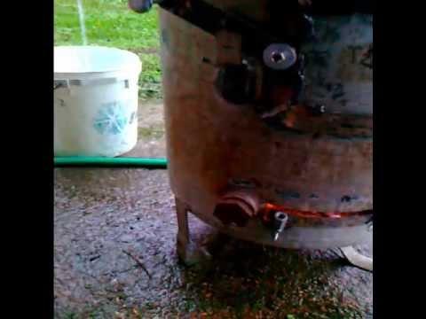 Stufa a legna calore e acqua calda homemade wood stove and hot water youtube - Stufa a legna acqua calda ...