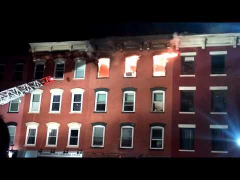Hoboken, nj 4th alarm fire 2/13/16