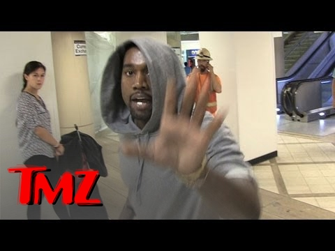 Dont Talk EVER: Kanye West Spazzes Out On Paparazzi Again!