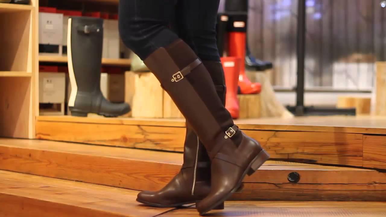 Cole Haan - Dorian Stretch Boot in Chestnut