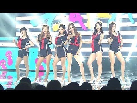 (Comeback Special) T-ara(티아라) - 완전 미쳤네(So Crazy) @인기가요 Inkigayo 20150809