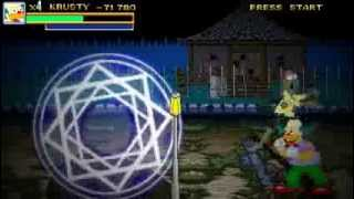 Simpsons Treehouse of horror game - DEMO