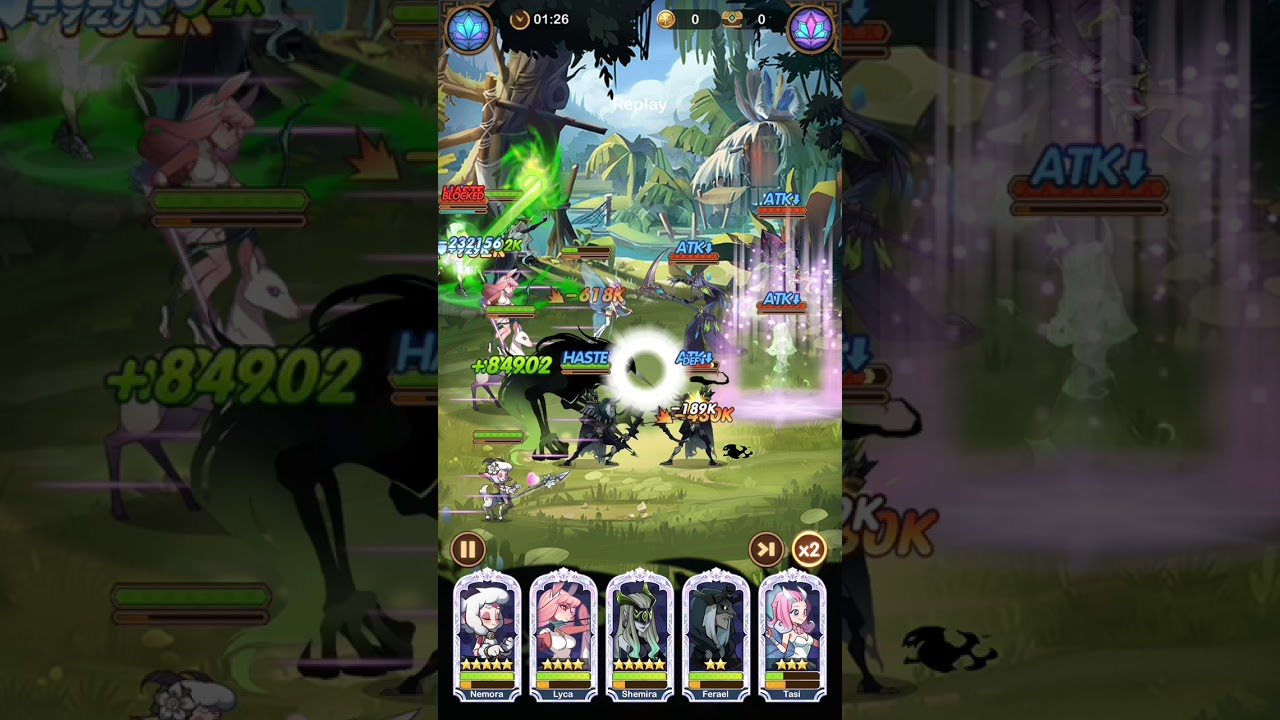 AFK Arena Stage 25-40 F2P - YouTube