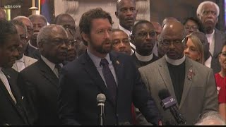 SC Rep. Joe Cunningham tests positive for coronavirus Joe Cunningham is the first member of Congress from South Carolina to test positive., From YouTubeVideos