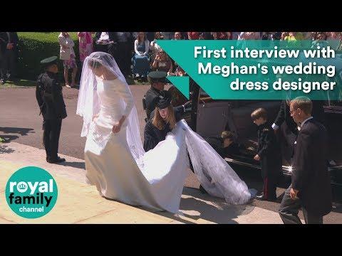 First interview with Meghan Markle's wedding dress designer