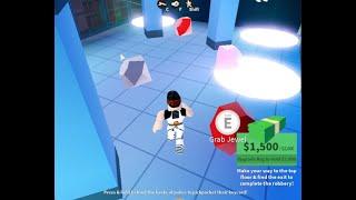 Jailbreak Jewelry Successful Robbery (Roblox)