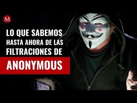 Anonymous y las filtraciones que ha hecho hasta ahora