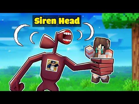 bqThanh Biến Thành QUỶ ĐẦU LOA SIREN HEAD Troll Ốc Trong Minecraft ?🤣