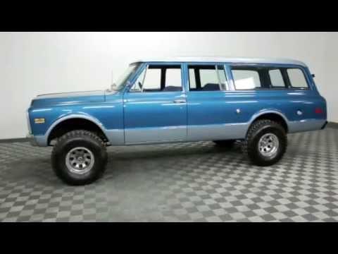 1972 Chevrolet Suburban For Sale