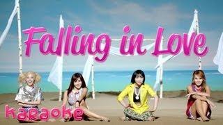 2NE1 - Falling In Love [karaoke]