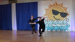 Simon Girard & Isabelle Roy - Summer Hummer 2019 - Rising Star - 2nd Place
