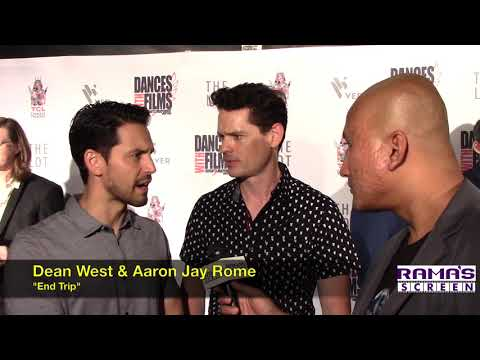 My  with Dean West and Aaron Jay Rome about 'END TRIP' at DWF 2018