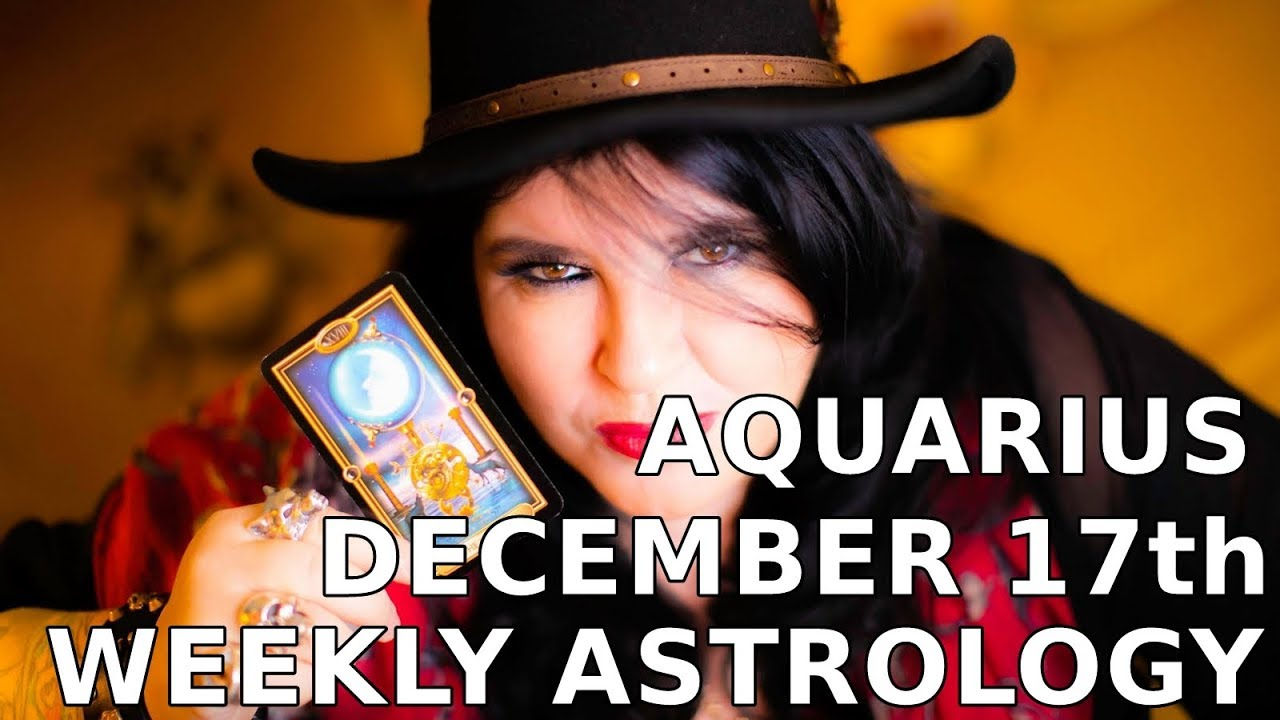The week ahead for aquarius