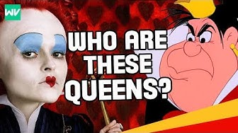 The Queen of Hearts & Red Queen: History & Full Story Explained: Discovering Alice In Wonderland