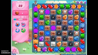 Candy Crush Level 570 Audio Talkthrough, 2 Stars 0 Boosters