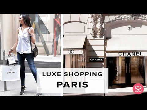COME WITH US! LUXE PARIS SHOPPING VLOG | Chanel Rue Cambon | Sophie Shohet
