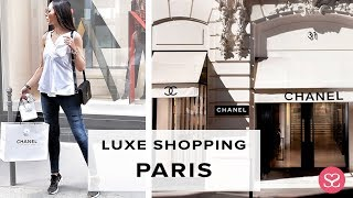 COME WITH US! LUXE PARIS SHOPPING VLOG | PART 1 PARIS VLOG | Chanel Rue Cambon | Sophie Shohet