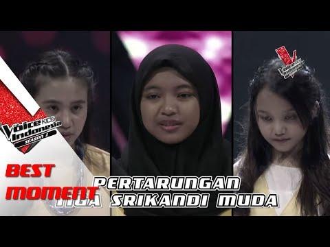 Sharla & Anggis & Putri   The Voice Kids Indonesia Season 2 GTV 2017