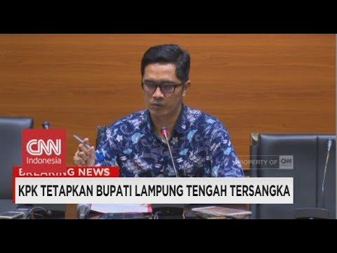 Breaking News! KPK Tetapkan Bupati Lampung Tengah, Mustafa Tersangka & Langsung Ditahan