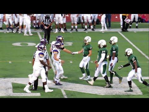 Westhill vs Norwalk - Football Game Video Highlights - Testa Field - September 15, 2017