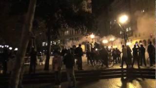 Occupy Oakland: Police Standoff & Brutal Assault, Tear Gas