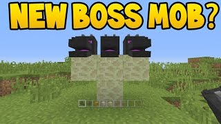 NEW BOSS MOB ADDED TO MINECRAFT ? thumbnail